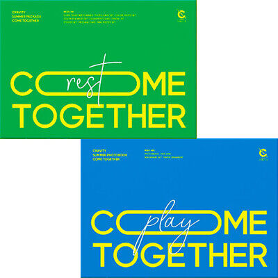 CRAVITY [COME TOGETHER] Summer 2 Ver SET Photo Book PLAY+Package REST SEALED