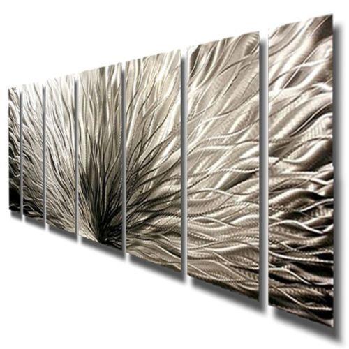 Wall Art Modern Abstract : Abstract metal wall art