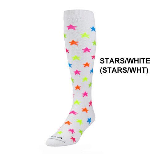 Twin City Krazisox Stars/White - Over-Calf Sock - Softball / Lifestyle