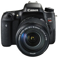 Canon EOS Rebel T6s Wi-Fi 24.2MP DSLR Camera with EF-S 18-135mm