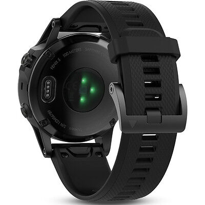 Garmin Fenix 5 Sapphire Edition Multi Sport Training Gps Watch Black Black Band