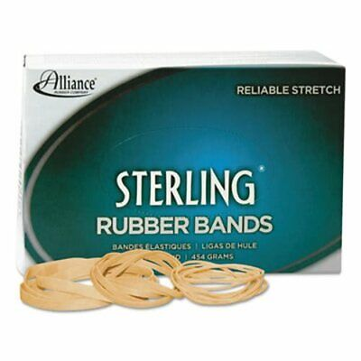 Alliance Sterling Ergonomically Rubber Bands 32 950 Bands Box All24325