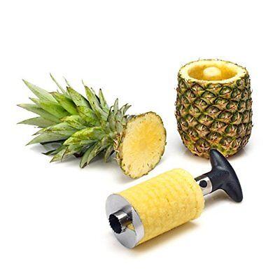 Pineapple Corer Slicer Cutter Easy Kitchen Gadget Stainless Steel Fruit Peeler
