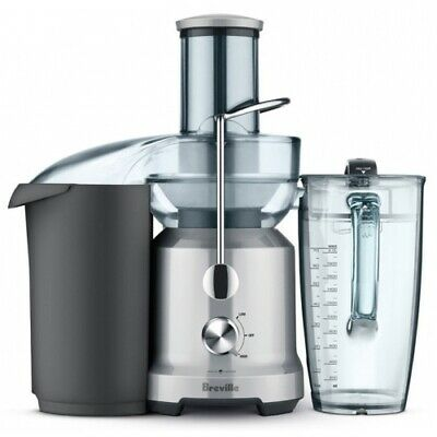 Breville The Force Fountain Cold Stainless Steel Juicer