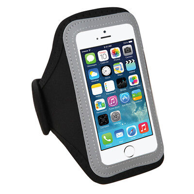 Black Sport Armband Case Pouch For Apple iPod touch 4 / 5 / 6th Generation (Apple Ipod Touch Sports Armband)