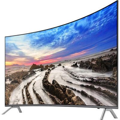 "NEW Samsung UN65MU850D 65"" Premium Curved 4K UHD Smart LED TV w/ White Glove Del"