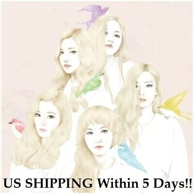 US SHIPPING Red Velvet[Ice Cream Cake]1st Mini Album Random CD+Booklet+Card