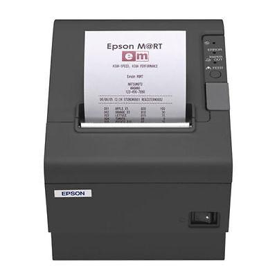 Epson Tm-t88iv Charcoal Thermal Printer Serialrs232