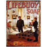 Enamel Sign Soap