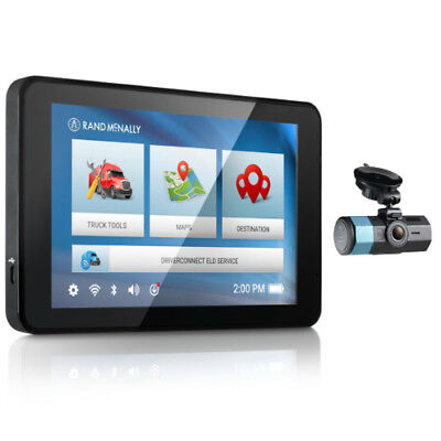 Rand McNally IntelliRoute TND 540LM with Dash Cam 100 Truck GPS with DashCam