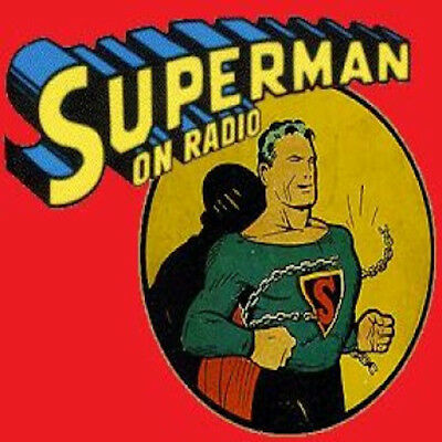 THE ADVENTURES OF SUPERMAN - Old Time Radio - 1171 Episodes - 1 MP3 DVD