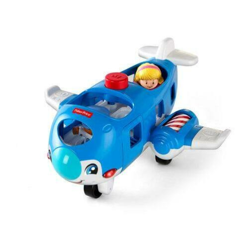 Fisher-Price Little People vliegtuig 2 (Blauw)