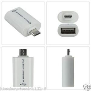 Micro USB OTG Smart Card Reader Connection Kit Cable Adapter PenDrive Smartphone