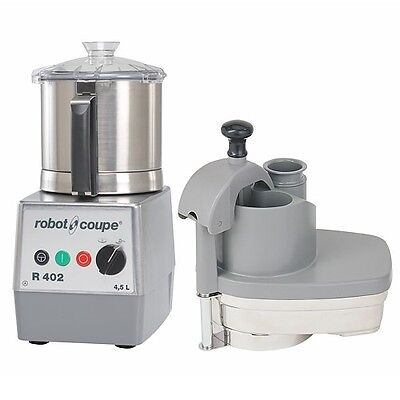 Robot Coupe R402 Combination Continuous Feed Food Processor W 4.5 Qt. Ss Bowl