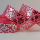 Pink Grosgrain Ribbons & Ribboncraft