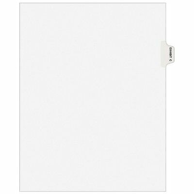 "Avery Side-tab Legal Exhibit Index Dividers - Printed""c"" - 8.50"" X (ave01373)"