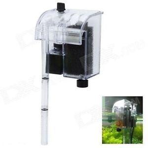 Filtro externo mochila bomba para acuarios peceras 500 l h for Filtro x acquario
