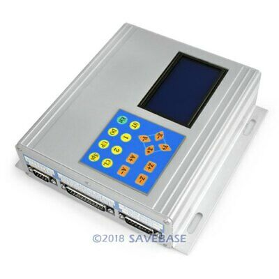 4 Axis Cnc Tb6560 Stepper Driver Aluminium Box Set Manual Controller Display
