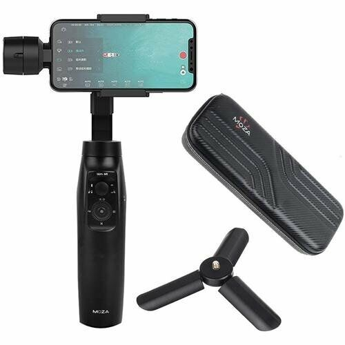 Moza Mini-Mi Smartphone Gimbal Stabilizer For iPhone Samsung 3-Axis Foldable