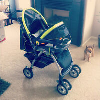 Stroller,Car seat and base for sale