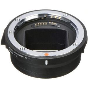 Sigma MC-11 adapter for Canon EF to Sony E mount