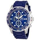 Blue Rubber Watch Strap