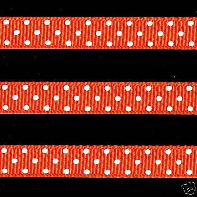 Swiss Dot Ribbon (5 yards 3/8