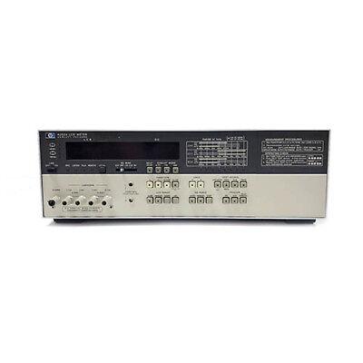 Refurbished Agilent 4262a Digital Lcr Meter 120 Hz 1 Khz 10 Khz Tes
