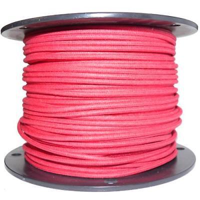 1M Algodón Trenzado Eléctrico Del Automóvil Cable 16 Calibre Rojo
