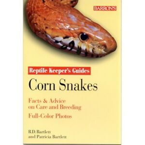 REDUCED: Barron's Corn Snakes Guide and Two other Snake Books