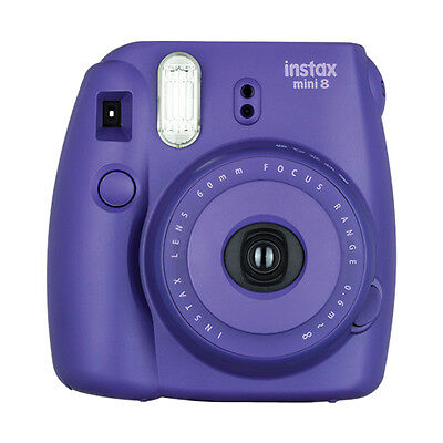 Fuji Instax Mini 8 Fujifilm Instant Film Camera Grape / Purple