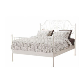 Beautiful White Bed Frame