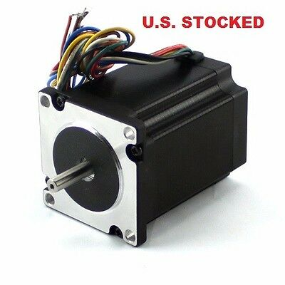 3pcs Nema23 495 Ozin Stepper Motor 14dual Shaft With A Flat