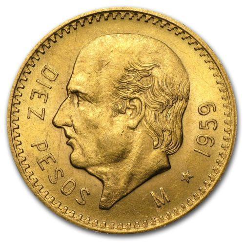 10 Pesos Gold Coin Ebay