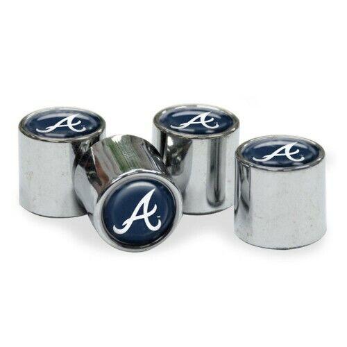 Brand New MLB  Atlanta Braves  Wincraft  Car Tire Valve Stem