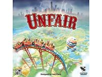 Unfair Board Game Kickstarter Edition BNIB