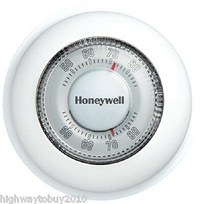 Honeywell YCT87K1003 Round Heat Only Manual Thermostat