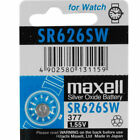 Maxell SR626 Coin/Button Cell Sub-Type Watch Batteries