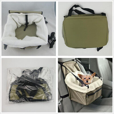 Portable Puppy Dog Cat Carry Car Booster Seat Pet Snoozer Hammock Safety Basket