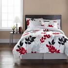 Red and Black Bedding