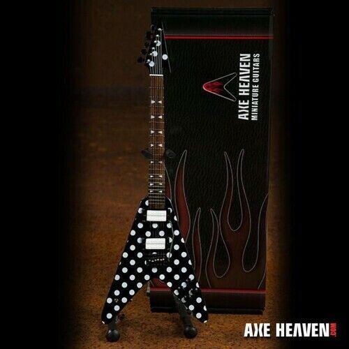 Randy Rhoads - Randy Rhoads Harpoon Polka Dot V Mini Guitar Replica Collectible