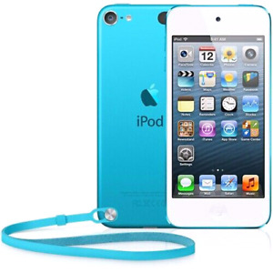 Apple iPod touch 5th gen with OtterBox and earphones
