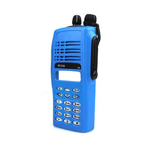 Complete Radio Service Parts Cover Kit for Motorola GP338/GP380/PTX760 Blue