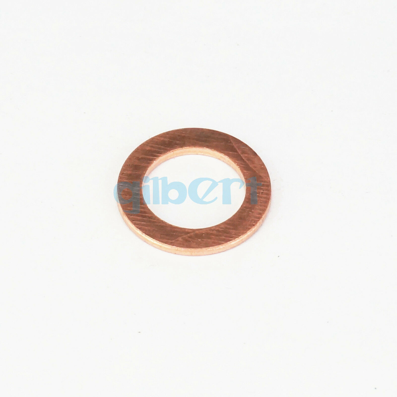 Multiple Thick 2mm Copper Flat Gaskets Crush Washer Sealing Ring Spacer For Boat