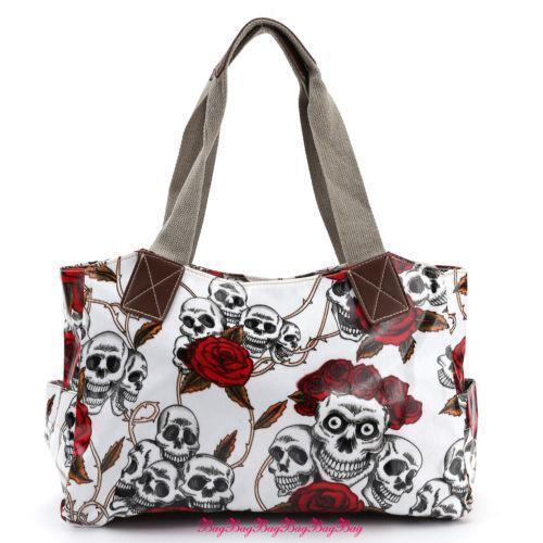 Leather Skull Bag Women S Handbags Ebay