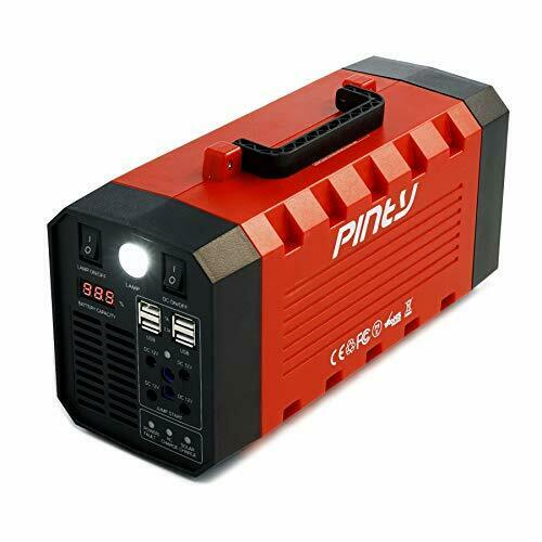 Portable Uninterrupted Power Supply 500W, Rechargeable Generator Power Source