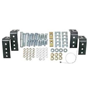 kit d'installation universel pour rails de fifth wheel