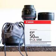 Canon EF 50mm F 1.2L USM