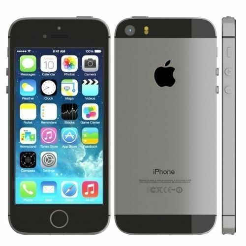 New Apple iPhone 5S 32 GB Space Gray Factory GSM Unlocked 4G LTE Smartphone