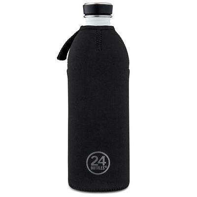 Thermohülle für die 24 BOTTLES Trinkflasche 1L NEU Schwarz Thermo Hülle Cover